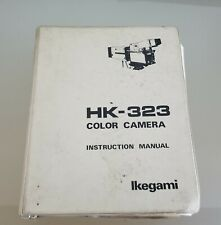 Ikegami HK-323 Color Camera Instruction Manual
