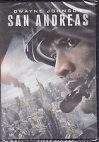 Dvd **SAN ANDREAS** con Dwayne Johnson nuovo 2015