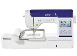 Brother Innovis F480 Sewing & Embroidery Machine, 4 Embroidery Hoops &40 Threads