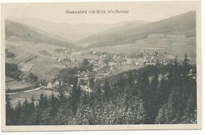 Niedersfeld Blick ins Ruhrtal Winterberg Hochsauerland Schmallenberg Olsberg