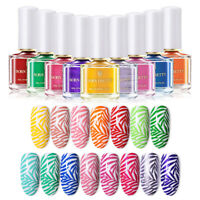 BORN PRETTY 6ml Stamping Polish Summer Series Nail Art Stamp Varnish Design