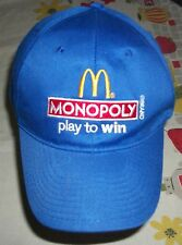 "2012 McDonald's Blue Cap Monopoly ""Play to Win"""