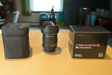 Sigma 17-50mm f/2.8 EX DC OS HSM Zoom Lens for NIKON