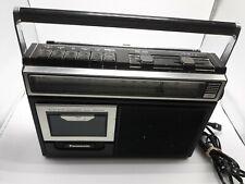 Panasonic Rx-1250 Am/Fm Cassette Recorder Vintage 80s Boombox