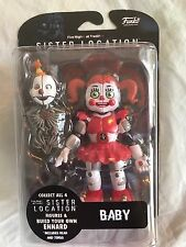 "FIVE NIGHTS AT FREDDY'S SISTER LOCATION BABY 5"" ACTION FIGURE NIB FNAF"