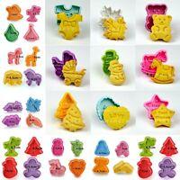 Fondant Cake Cutter Plunger Cookie Mold Sugarcraft Flower Heart Decorating Mould