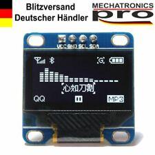 OLED Display I2C IIC 0.96 LCD Weiß Arduino Raspberry Pi 128X64 TWI SSD1306