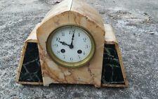 Pendule horloge carillon art déco