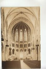 Seidman Real Photo Postcard Interior of The Riverside Church  New York City NY