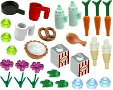 30x New Lego Food & Drink Parts Accessories