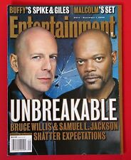 Entertainment Weekly #571 - Dec 1, 2000 - Unbreakable - Bruce Willis - Mint