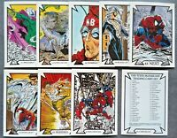 1989 MARVEL TODD McFARLANE  SPIDERMAN COMPLETE SERIES 1 CARD SET 45 CARD