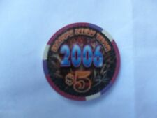 New listing $5 Four Queens 2006 Happy New Year Chip