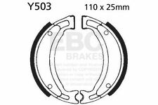 FIT YAMAHA YFM 50 S/T/RV/RW/RX Raptor 04>09 EBC FRONT BRAKE SHOE SET