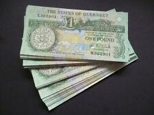 A STATES OF GUERNSEY ONE POUND NOTE IN UN-CIRCULATED MINT CONDITION GUERNSEY £1