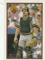 FREE SHIPPING-MINT-1989 Bowman Mike LaValliere #417 PIRATES PLUS BONUS CARDS