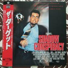 Shadow Conspiracy (1997) Charlie Sheen PILF-7367 Laserdisc LD OBI Japan