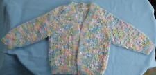 BABY HAND KNITTED JACKET, MULTI COLOUR, SUIT 6 TO 9 MONTH OLD (16)