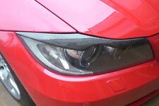 2x Böser Blick Scheinwerferblenden aus hoch qualität CARBON für BMW 3er E90 E91