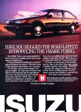 1987 Isuzu I-Mark Turbo - Original Anuncio Impresión Arte Coche Anuncio A81
