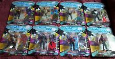 NEW Lot of 8 STAR TREK The Next Generation Action Figures Playmates Vintage 90s