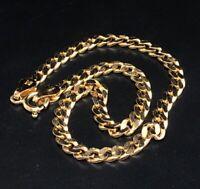 "Vintage Sterling Silver Bracelet 925 7.5"" Vermeil HCT gold Tone Italy"