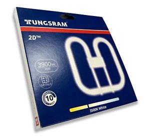 Tungsram 2D Lamp - 55w 4 Pin GR10q 3500K Standard White Bulb for WC Bathroom +