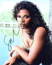 Sanaa Lathan Out Of Time Actress Signed 8x10 Photo COA Autographed Look