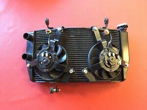 D42  Ducati 1198 S 1098  848   Wasserkühler Wasser Kühler mit Lüfter