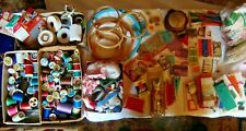 Mixed Lot of Huge Sewing Supplies old to new, Thread, Needles, Pins, Bias & More