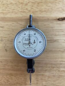 "Interapid 312b Dial Test Indicator .0005"" w/Case"