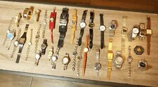 Watch Lot of 35 Assorted Men's Women's Wrist Watches Name Brand Wholesale