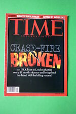 TIME rivista magazine FEBRUARY 19 1996 CEASE-FIRE BROKEN