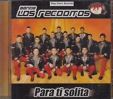 Los Recoditos Para Ti Solita CD New Nuevo Sealed