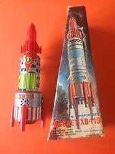 Tin XB-115 Space Rocket Spaceship SH Horikawa Made In Japan