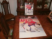 """NHL PATRICK ROY 300 PIECES  POSTER PUZZLE CANADA GAME 22""""x35"""""""
