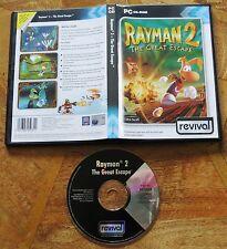 rayman 2-pc cd-rom spiel-original spiel vintage