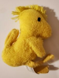 "Vintage Peanuts WOODSTOCK 5"" Mini Plush Bird Stuffed Animal Snoopy Knickerbocker"