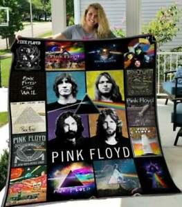 Pink Floyd Thanks you For Fans Quilt, Fleece Blanket  Printer In US
