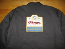 Hamm'S Beer Drivers Sewn On Patch Insulated Zip Down New Jacket By Red Kap