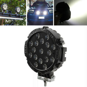7inch 170W LED Work Light Bar Spot Fog ATV 4WD Truck Off Road SUV Forklift Lamp