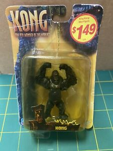 Playmates 2005 Mini King Kong 2.5in  The 8th Wonder of The World Figure Rare!