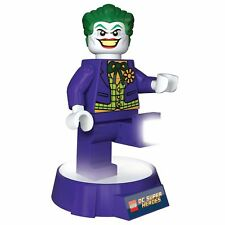 LEGO SUPER-HÉROS DC 'LE JOKER' TORCHE LED & VEILLEUSE BATMAN