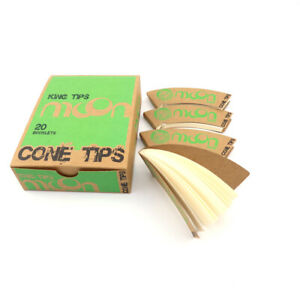 One Box 20 Pack Rolling Paper Filter Tips For Cone Smoking Accessory
