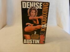 Denise Austin - Power Kickboxing Workout (VHS, 1999)