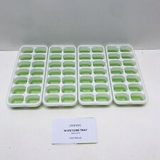 New listing Omorc Ice Cube Trays 4 Pack, Easy-Release Silicone and Flexible 14-Ice Trays