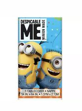 Minions Plastic tablecover New Party Supplies