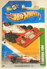 2012 Hot Wheels Red White Tyrrell P34 Treasure Hunt 56/247 Racing Indy 500
