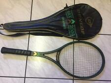 DUNLOP MAX 200G  GRAF-McENROE VINTAGE 80'S RACQUET AND CASE MADE IN ENGLAND