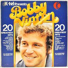 "BOBBY VINTON   ""K-Tel Presents Bobby Vinton's 20 Greatest Hits""   CSPS1004"